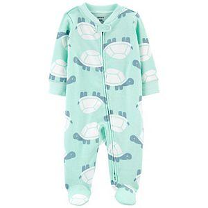 Baby Boy Carter's Turtles 2-Way Zip Sleep & Play