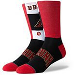 Men's Stance Arizona Diamondbacks Pop Fly Logo Crew Socks