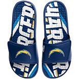 Men's FOCO Los Angeles Chargers Gel Slide Sandals