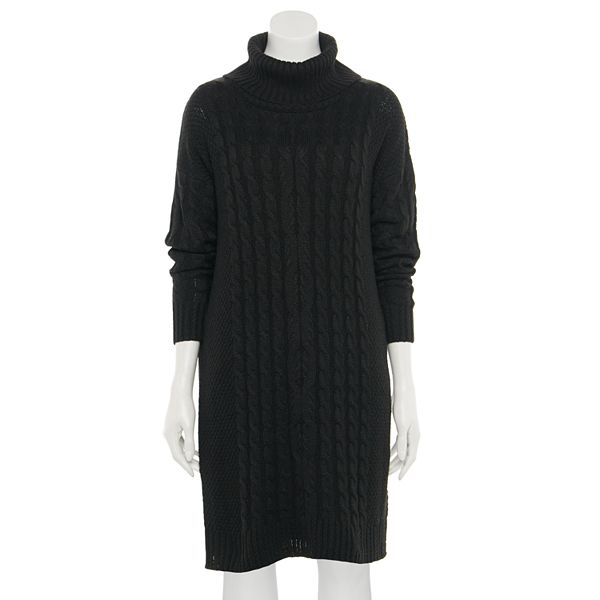 Women's Sonoma Goods For Life® Cowlneck Cable Sweater ... Dress