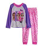 Girls 6-10 L.O.L. Surprise! Glitter Like A Boss 2-Piece Pajama Set