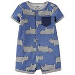Baby Boy Carter's Whale Snap-Front Romper