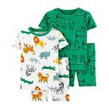 Baby Boy Carter's 4 Piece Cotton Pajamas Set