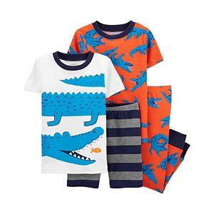 Toddler Carter's 4 Piece Animals Pajama Set