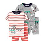 Toddler Boy Carter's 4 Piece Pajama Set
