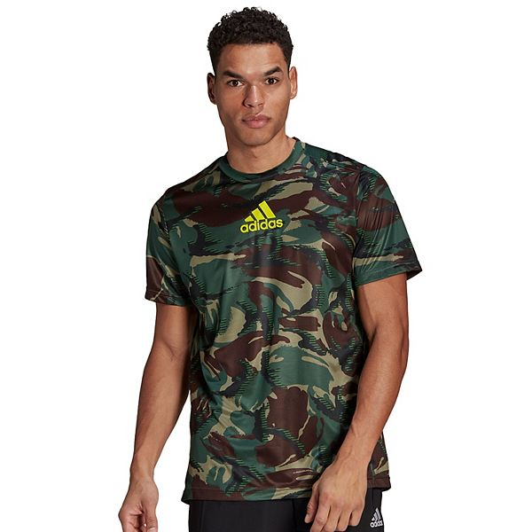 Men's adidas D2M All Over Print Camo Tee