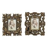 "Stella & Eve Antique Inspired 4"" x 6"" Frame 2-piece Set"