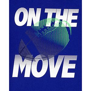 """Boys 4-14 Carter's Football """"On The Move"""" Graphic Tee"""