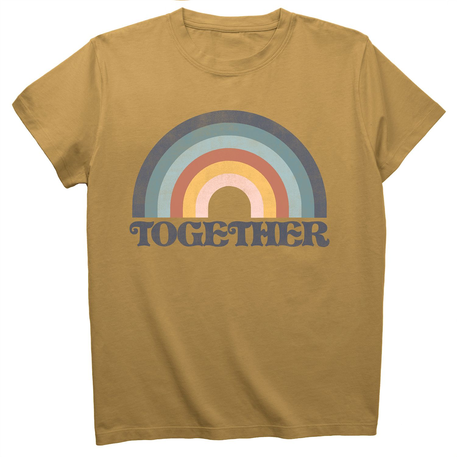 Young Women's Fifth Sun Together Rainbow Tee