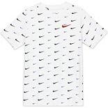 Boys 8-20 Nike Swoosh Print Tee