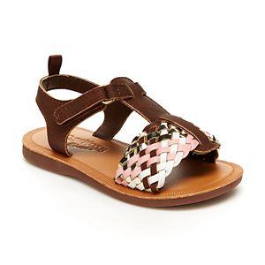 OshKosh B'gosh® Woven Toddler Girls' Sandals