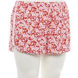 Juniors' Plus Size SO® Pajama Shorts