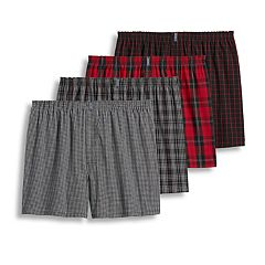 Men's Jockey 4-pack Classic Full-Cut Woven Boxers