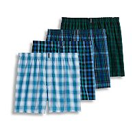 Men's Jockey 4-pk. Classic Full Cut Woven Boxers