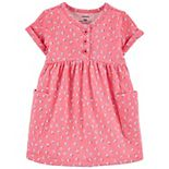 Baby Girl Carter's Polka Dot Jersey Dress