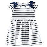Baby Girl Carter's Striped Jersey Dress