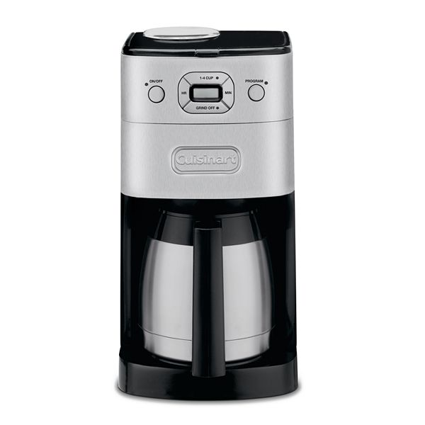 Cuisinart Coffee Maker Customer Service : Kohls.com Cuisinart Cuisinart Grind N Brew 10-Cup Thermal Coffee Maker: questions, answers, how ...