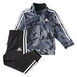 Boys 4-7 adidas Camo Classic Jacket & Pants Track Suit Set