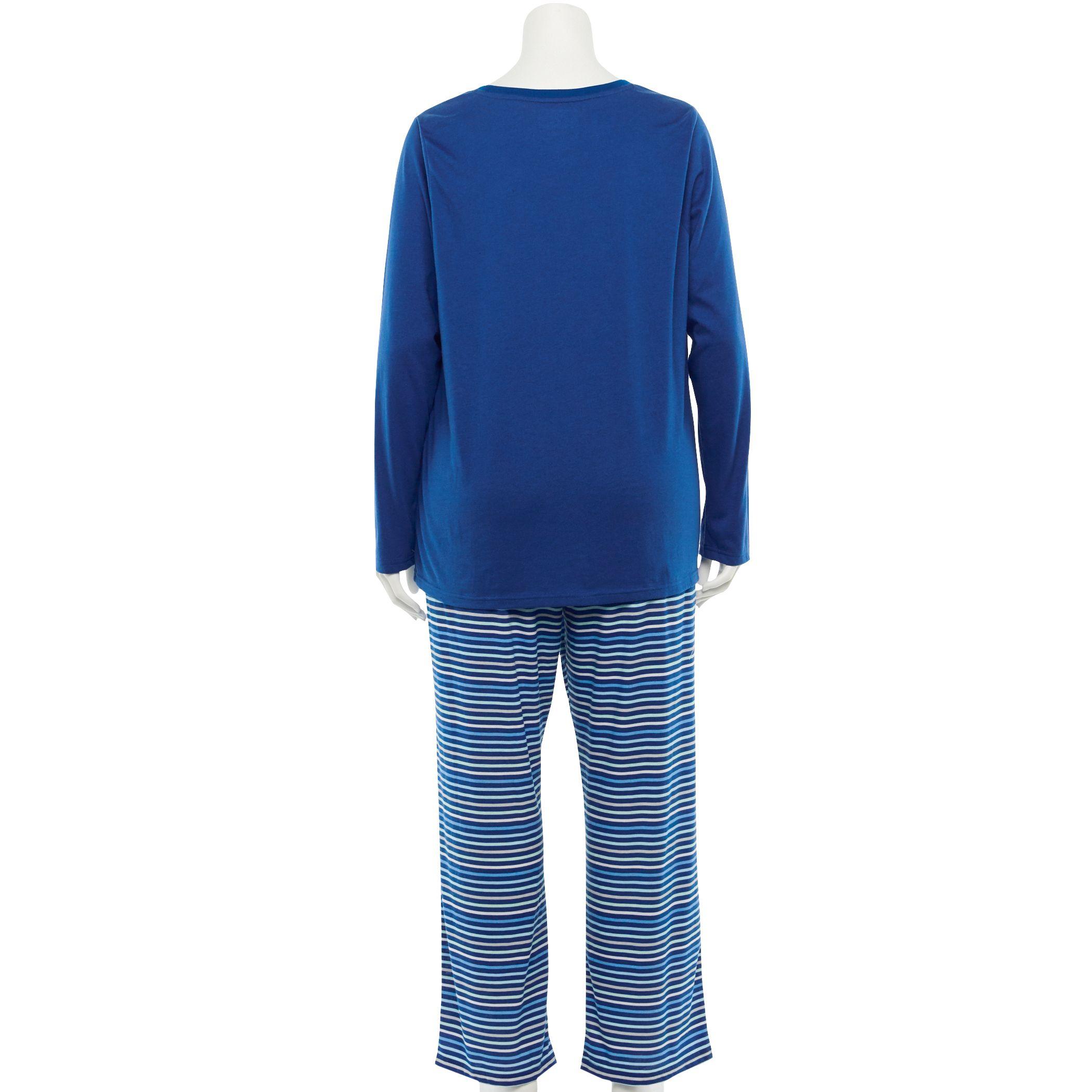 Plus Jammies For Your Families® Hanukkah Graphic Top & Pants Pajama Set