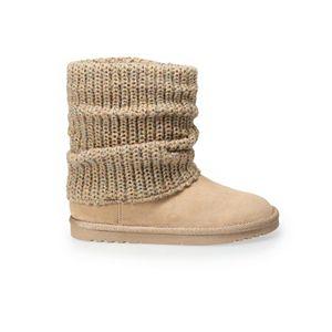 SO® Mandy Girls' Sweater Boots