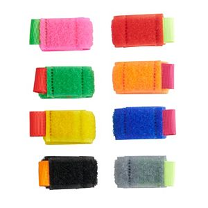 Kikkerland Color-Coded Cable Ties