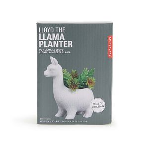 Kikkerland Lloyd the Llama Planter