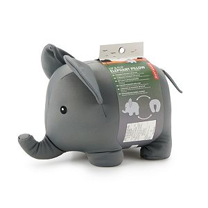 Kikkerland Zip & Flip Elephant Neck Pillow
