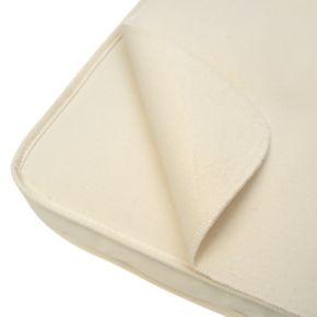 Naturepedic Organic Cotton Flannel Flat Bassinet Pad