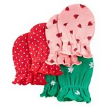 Baby Carter's 3-Pack Mittens