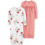 Baby Girl Carter's 2-Pack Nightgowns