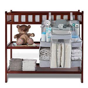 LA Baby Diaper Caddy & Nursery Organizer