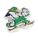 Men's Notre Dame University Fighting Leprechaun Lapel Pin