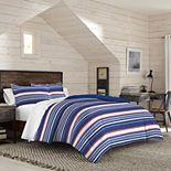 IZOD Colin Stripe Comforter Set