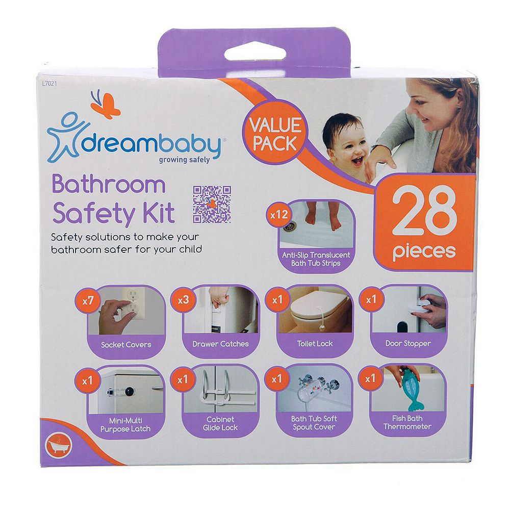 Dreambaby 28-pc. Bathroom Safety Kit