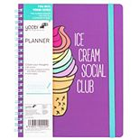 Yoobi Ice Cream Undated Planner
