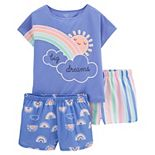 Girls 4-14 Carter's 3-Piece Flamingo Pajama Set