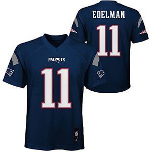 edelman patriots youth jersey