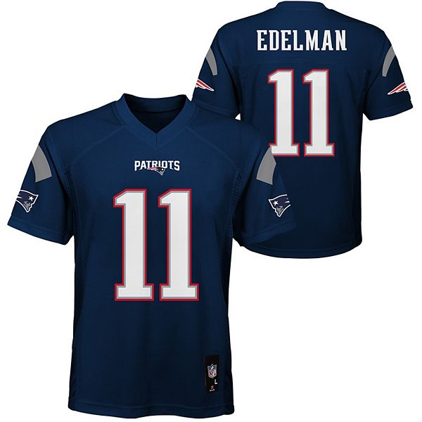 Boys 8-20 New England Patriots Julian Edelman Jersey