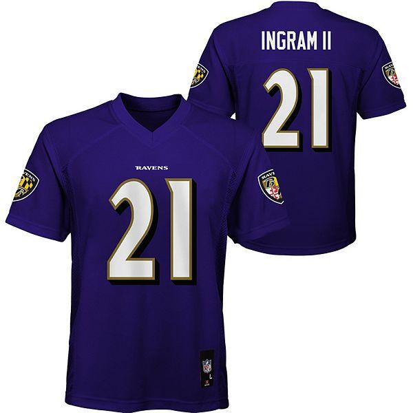 Boys 8-20 Baltimore Ravens Mark Ingram Jr. Jersey