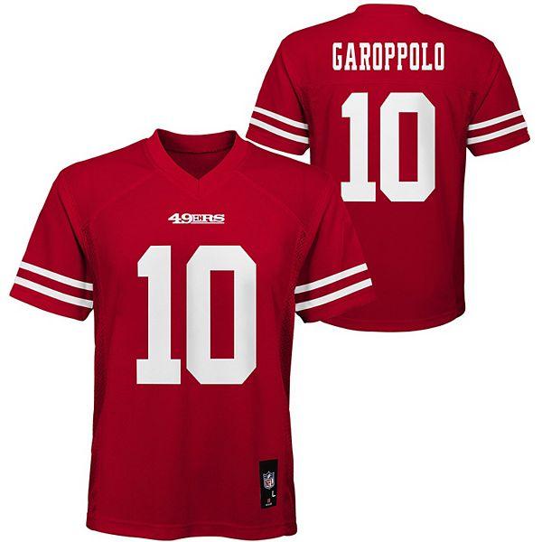 Boys 8-20 San Francisco 49ers Jimmy Garoppolo Jersey