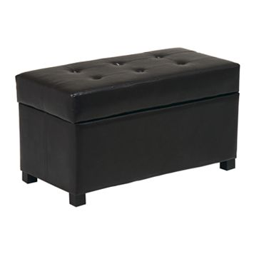 Home Star Products Metro Storage Ottoman