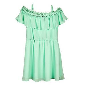 Girls 7-16 & Plus Size IZ Amy Byer Crochet Off-the-Shoulder Dress