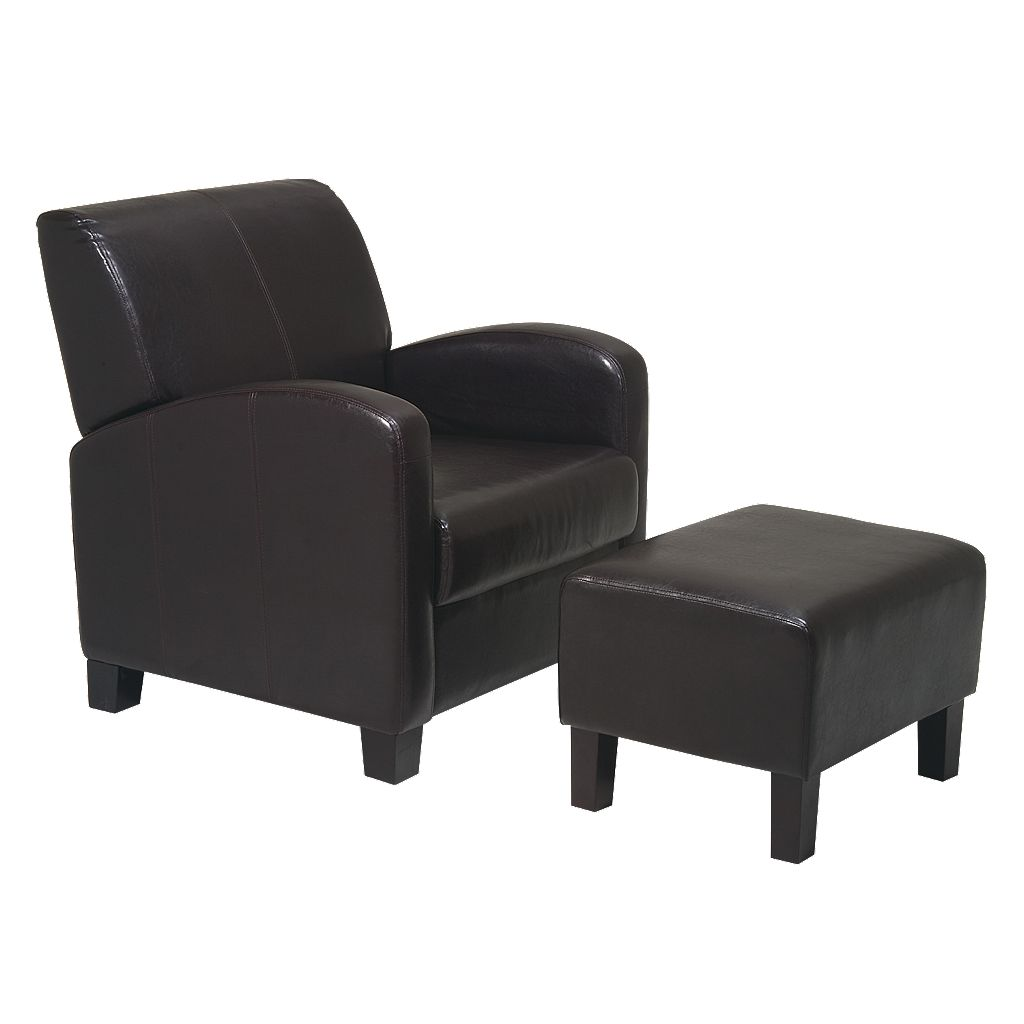 Home Star™ Products Metro Chair & Ottoman Set
