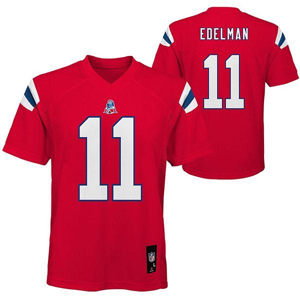 Boys 8-20 New England Patriots Julian Edelman Alternative Jersey