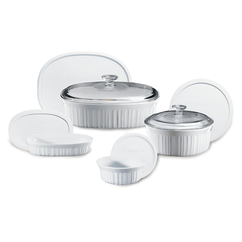 CorningWare French White 10-pc. Bakeware Set
