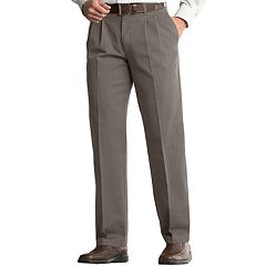 Men's Lee Comfort Fit Classic-Fit Pleated Pants