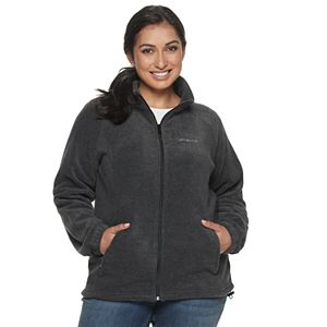 Plus Size Columbia Benton Springs Full Zip Fleece Jacket