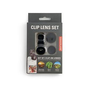 Kikkerland Clip-On Lens Set