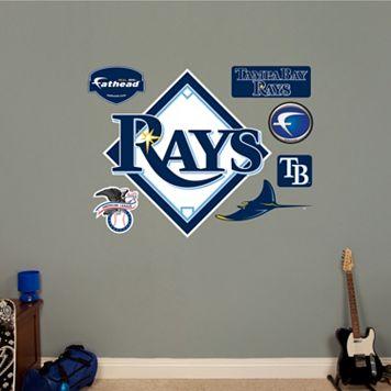 Fathead® Tampa Bay Rays Logo Wall Decal