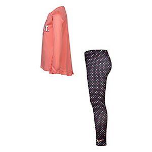 Girls 4-6x Nike Dri-FIT Tee & Leggings Set